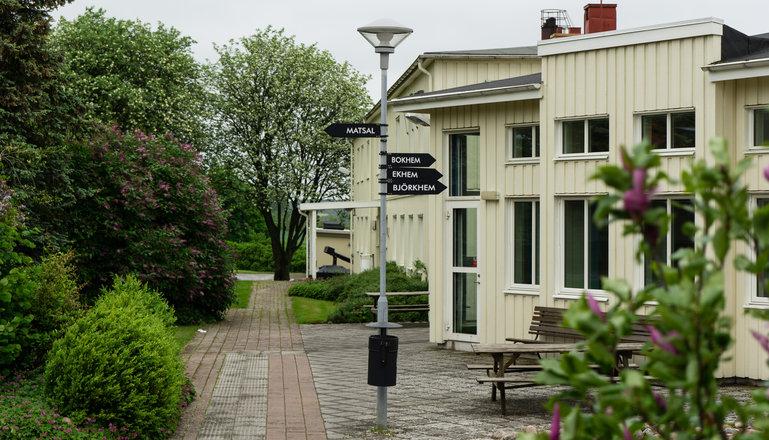 Konferensbyggnad på Katrinebergs folkhögskola.